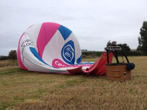 G-TRIG landing after flight from the Berkshire Show